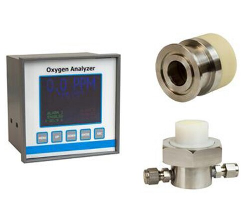 Trace Oxygen Analyzer (0 - 1000ppm) with Kf40 & Flow Housings