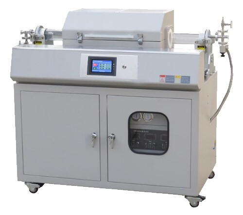 Laboratory Flexible Metal Foil Electrode Preparation 1200 Celcius Single/Multi Heating Zone Double Tube Slide CVD System