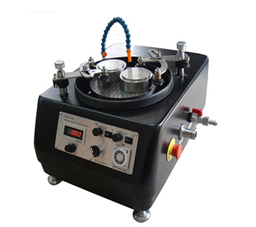 "Heavy Duty (8"") Dual Platens Grinder/ Polisher with Magnetic Plates EQ-Unipol-820"