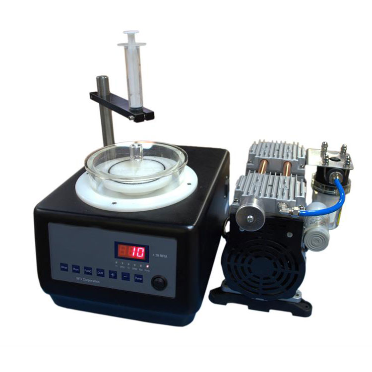 lab Compact Vacuum Spin Coater with  Vacuum Chucks