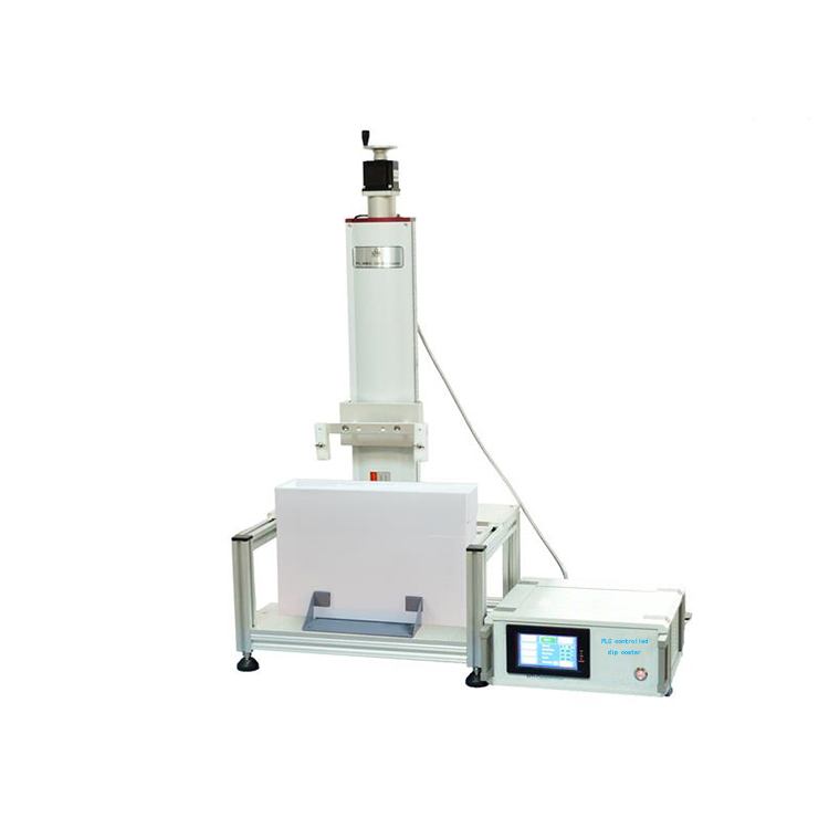 PLC controlled precision lab dip coater