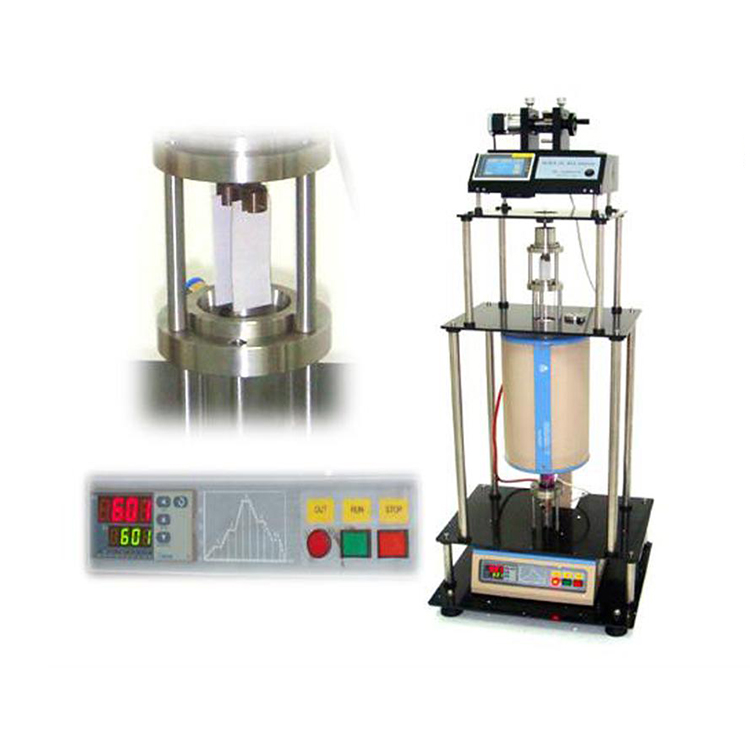 Programmable dip coating manchine with vertical tube furnace