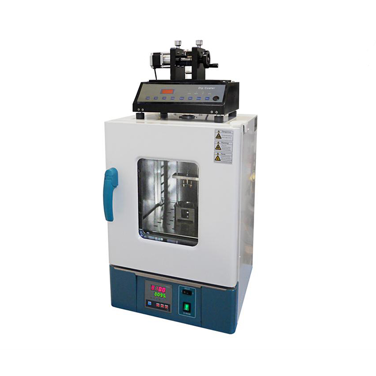 Constant temperature dip coater with drying oven