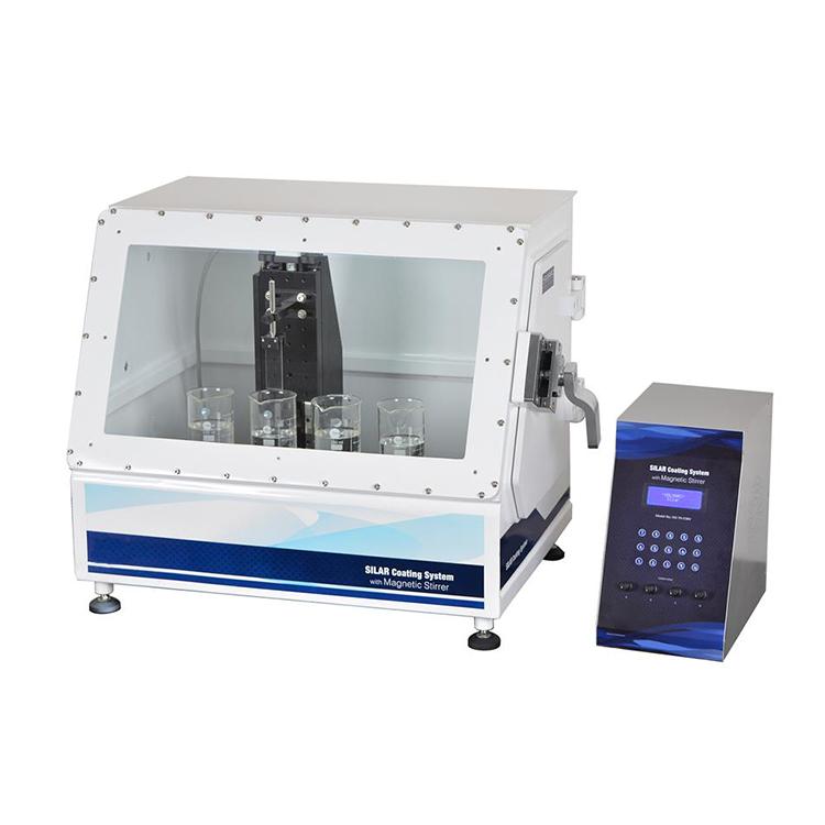 4 position SILAR specimen programmable dip coater with magnetic stirrer