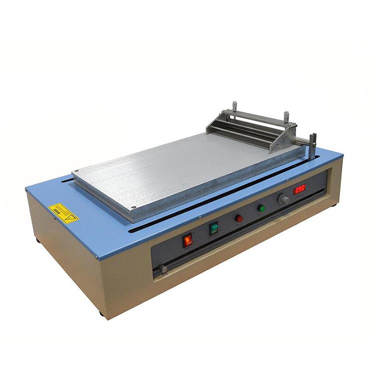 Large automatic film coating machine with vacuum chuck