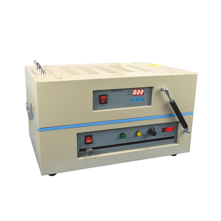 Small automatic drying cast coating machine