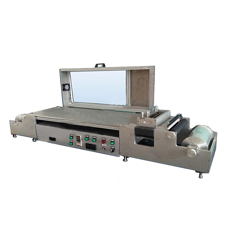 Lab scale roll-to-roll flat tape caster