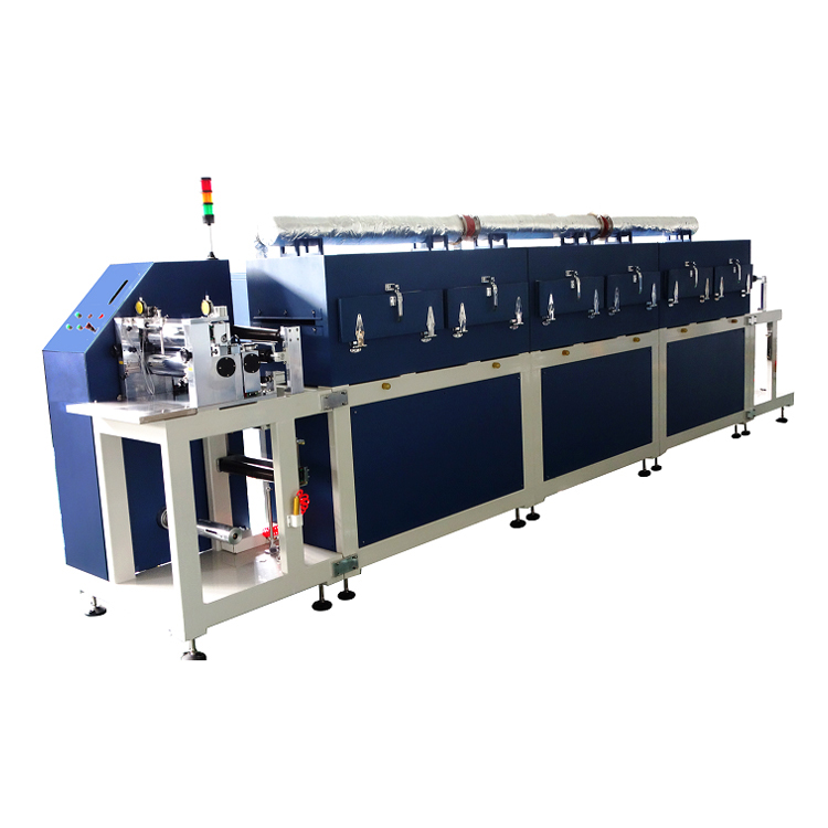 Faster battery electrode roll to roll transfer coating system