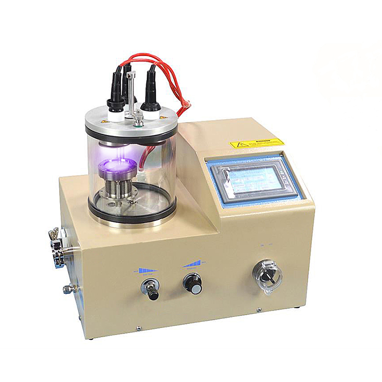 3 Rotary Target Plasma Sputtering Coater with Substrate Heater