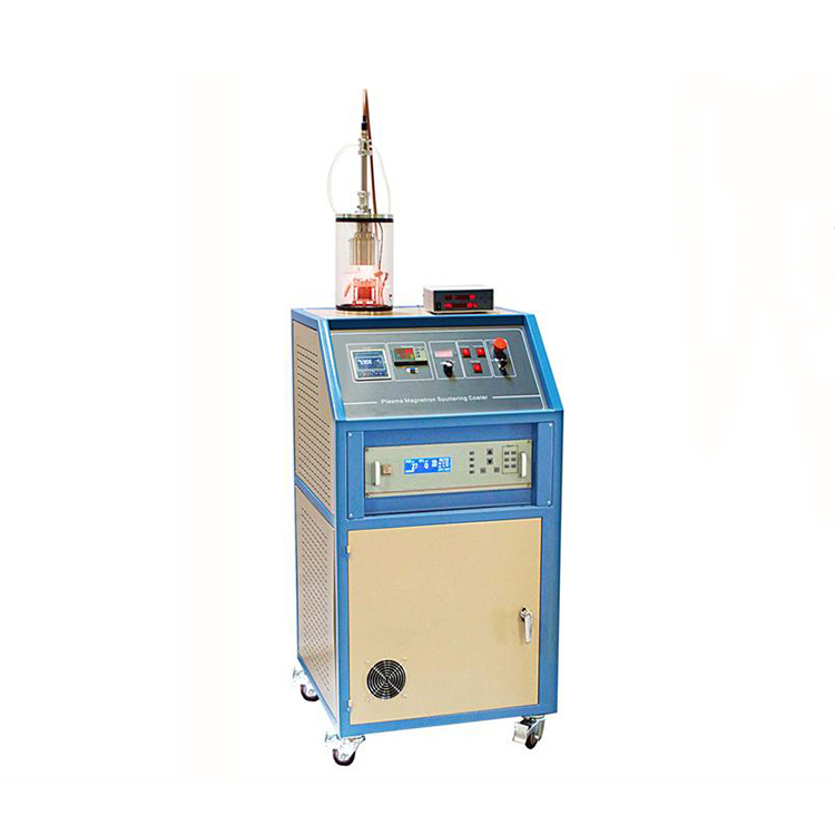 RF plasma magnetron sputtering coater for non-conductive thin films