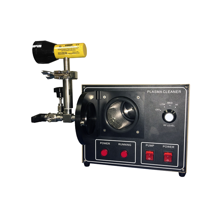 Compact Plasma Cleaner with Digital Vacuum Gauge