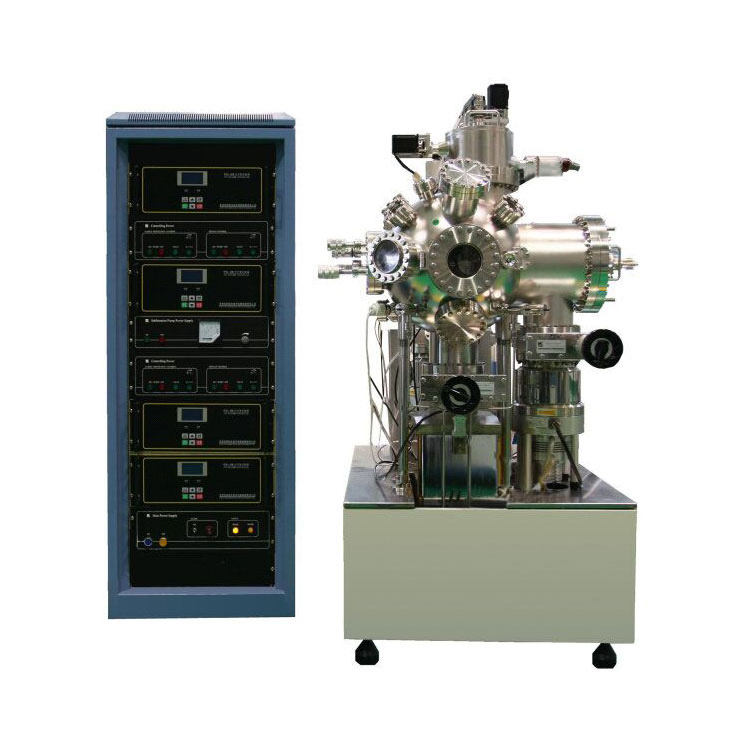 Dual chamber pulse laser coater