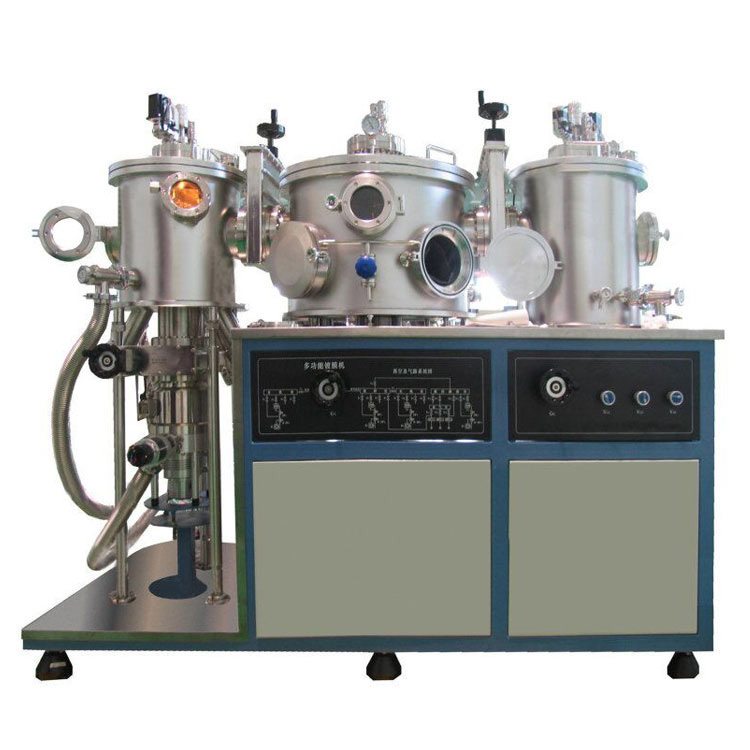 Organic and inorganic evaporation coater
