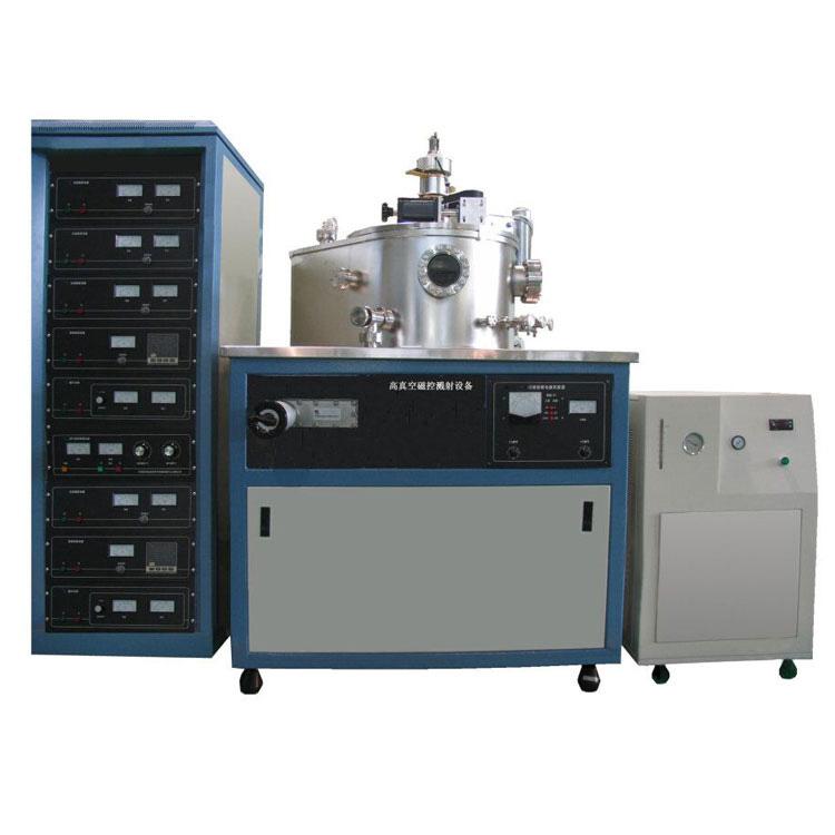 High vacuum magnetron sputtering coater