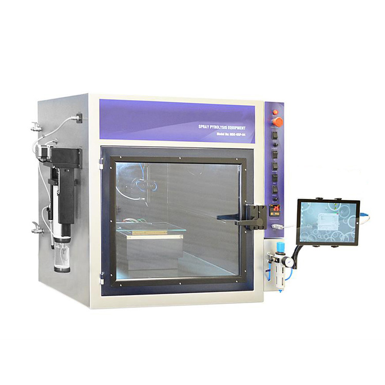 Automatic ultrasonic spray pyrolysis coating equipment