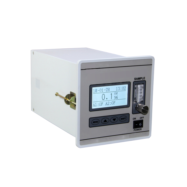 Infrared carbon dioxide analyzer