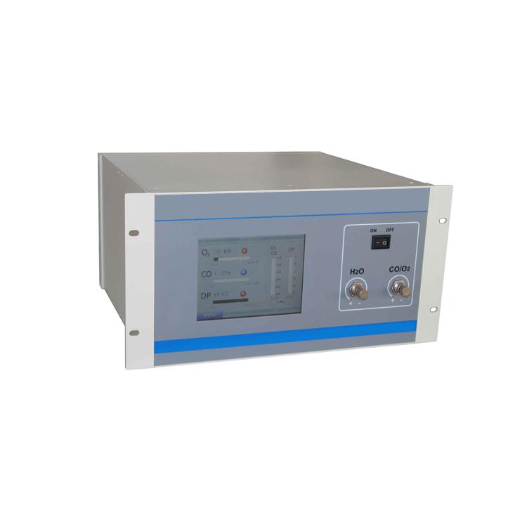 Multi-component gas analyzer