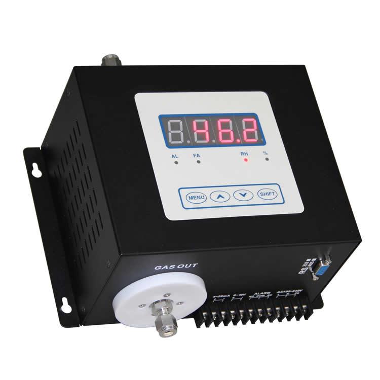 Flue gas humidity analyzer