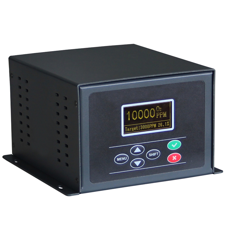 Proportional valve oxygen concentration controller