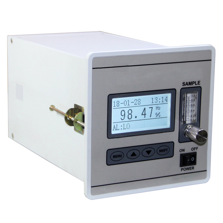 Thermal conductive hydrogen analyzer