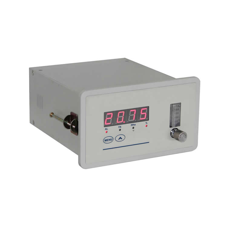 Purity oxygen analyzer