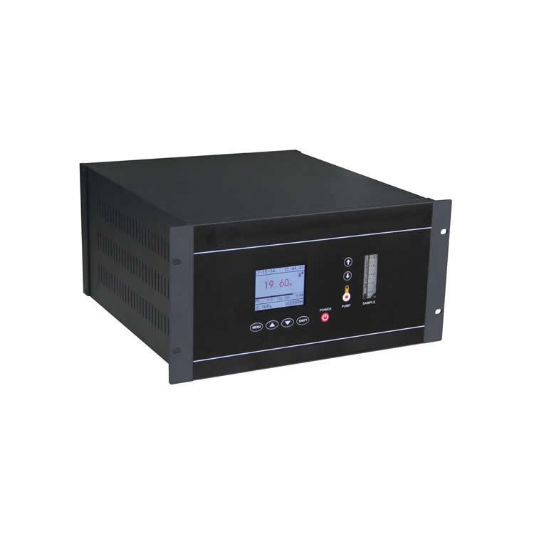 Online close-loop control oxygen analyzer