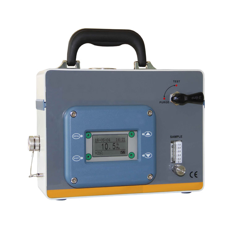 Portable explosion-proof oxygen analyzer
