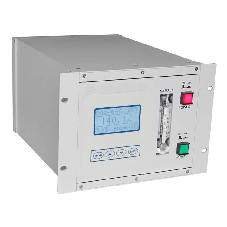 Trace oxygen analyzer