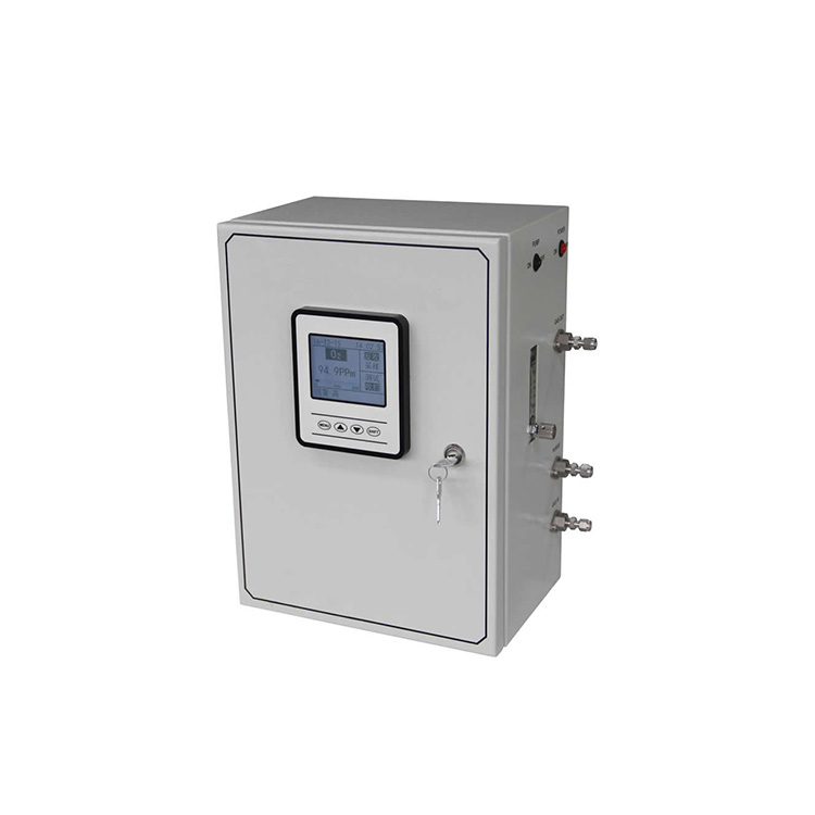 Wall-mount oxygen analyzer