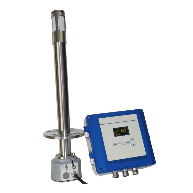 Flue oxygen analyzer