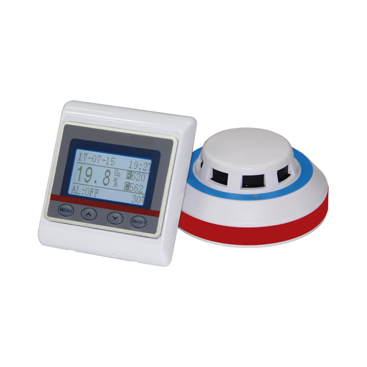 Laboratory embedded oxygen monitor