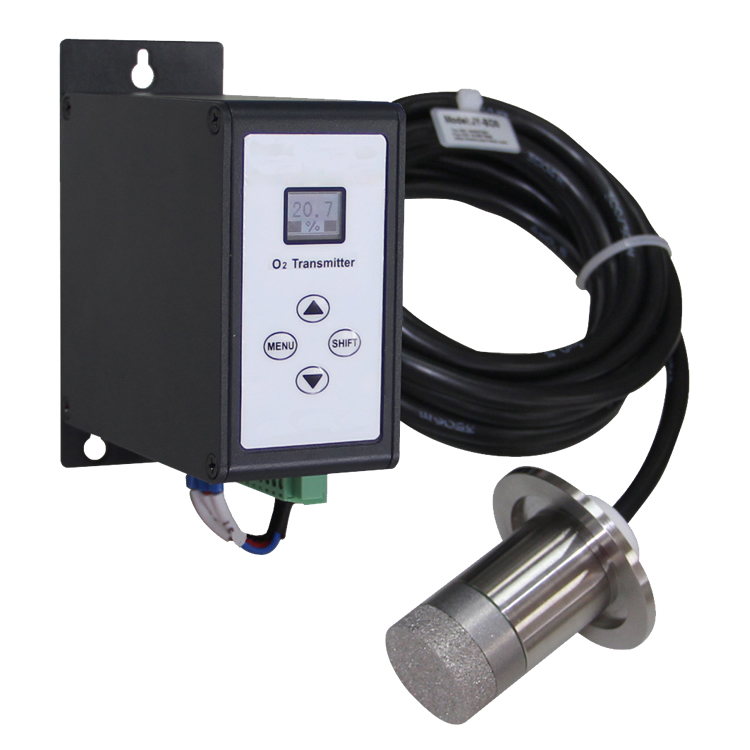 Ion current oxygen transmitter
