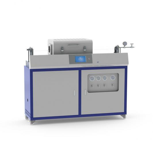 Compact auto-sliding CVD tube furnace
