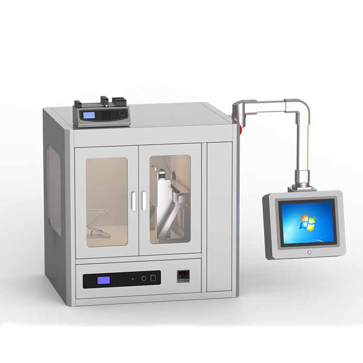 High-voltage electrospinning machine