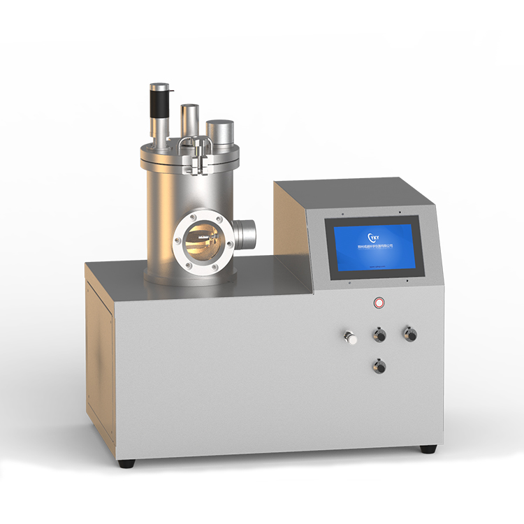 Small high vacuum thermal evaporation coater
