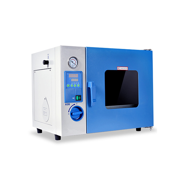 Vacuum drying oven with vacuum pump up to 250℃